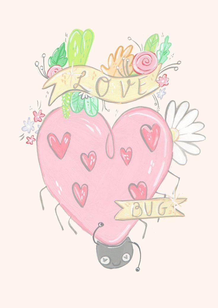 love bug Jessillustrates