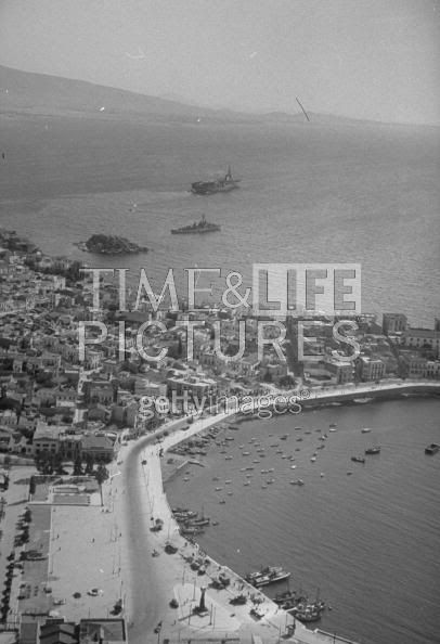 Zea Harbour 1948 Peraeus, Greece