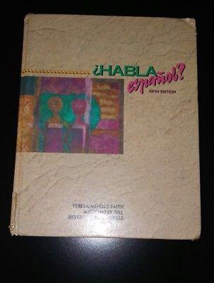 Habla Espanol? by Beverly M. Kienzle, Mary M. Gill and Teresa Méndez-Faith (199…