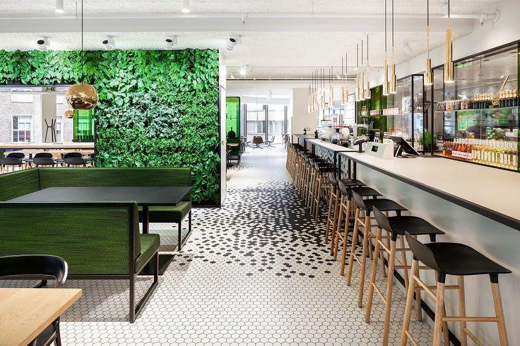 Restaurantontwerp van i29 drukt identiteit uit - architectenweb.nl
