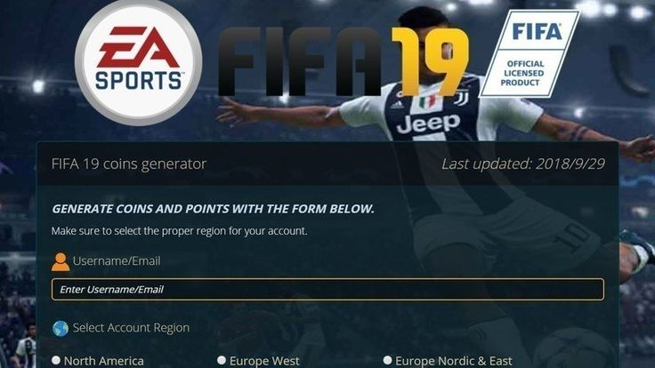 fifa 19 coin generator without human verification