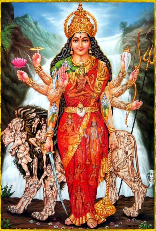 officialjusblaze:  Maa Durga . Parvati . Universal Mother