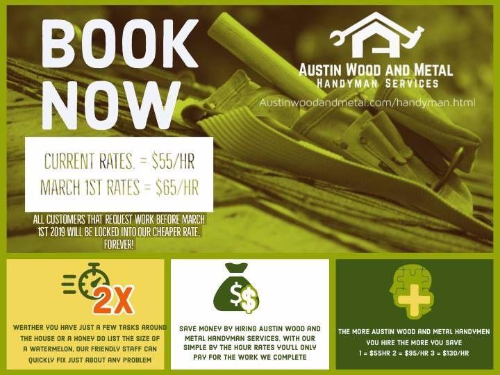 Austin texas best handyman! | 2019 Wood Working Articles in