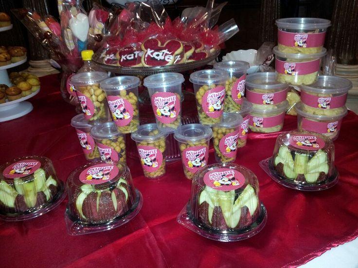 Mesa de frutas y chile!! Decoraciones de minie mouse!! Pinterest Mesas and Chile -> Decoração De Frutas Para Mesa