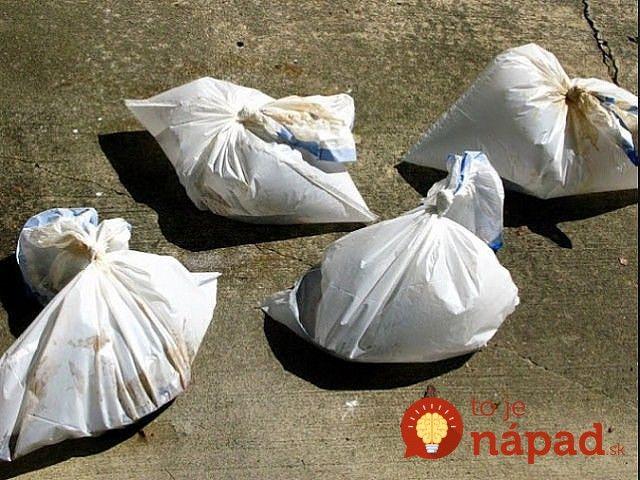 Vrecia na odpadky a ocot: Tieto dve veci má doma hádam každý - napadlo by vám, aké užitočné sú, keď ich spojíte?
