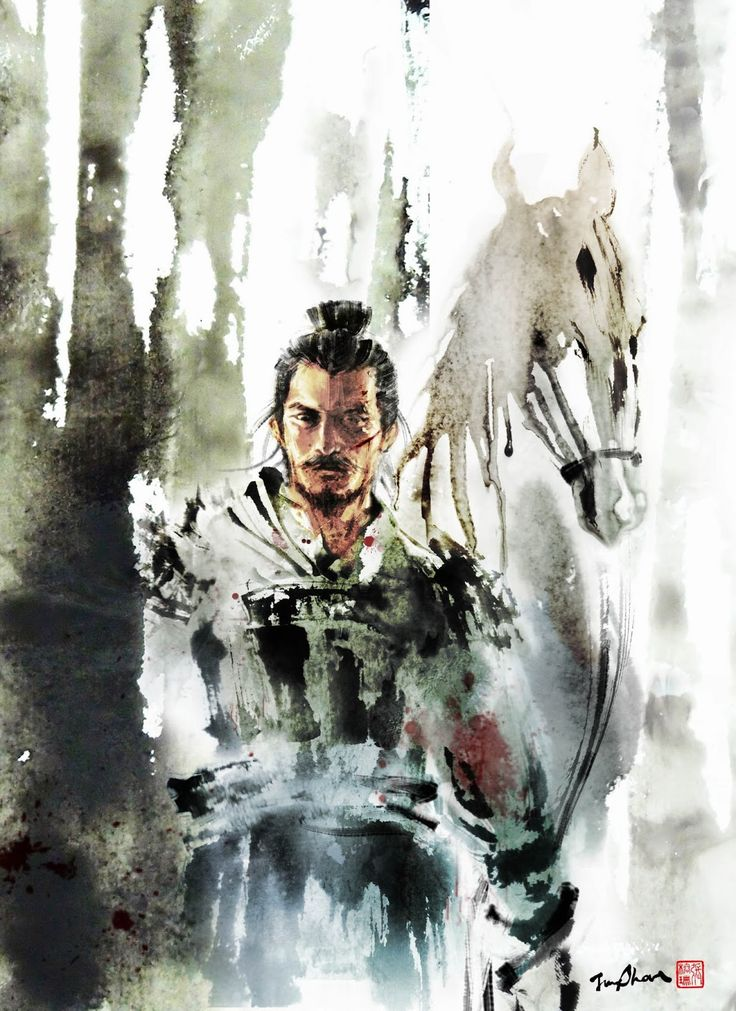 Chinese artist Rola Chang, aka Jung Shan from Taiwan. Asian inspired ink paintings combining eastern and western elements http://jungshan.deviantart.com/ http://jung-shan.blogspot.com/?m=1   張榕珊