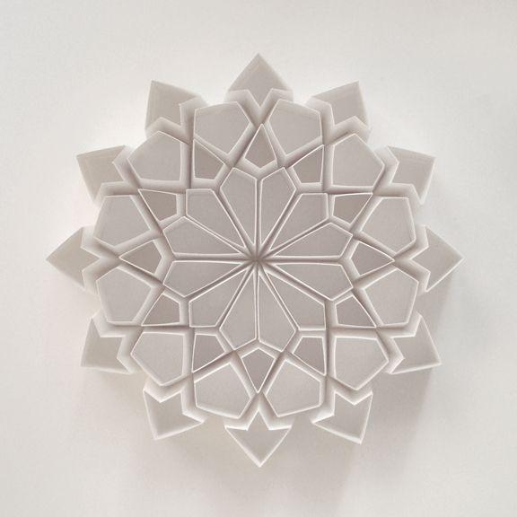 Matt Shlian paper sculpture
