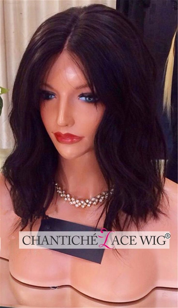 Human Hair Silk Top Lace Front/Full Wigs African Americans Brazilian Remy Wave