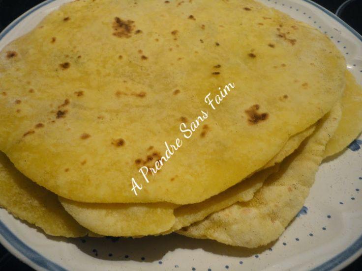 Tortillas de maïs fait maison
