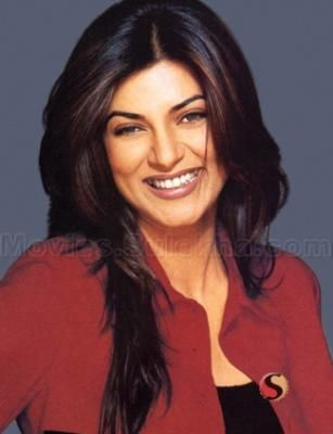 Sushmita Sen - Indian actress. Her confidence, her smile, makes her different from all the miss universes / Miss world from India.  I can recall my first encounter with this lady when I had seen her being crowned Miss Universe on TV early in the morning & trust me I had tears too in my eyes, as if I had been crowned. I still watch her pageant videos on youtube. She was judge's favorite & had scored top in the rounds.