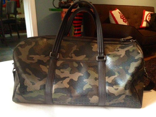 Coach men's camo duffle bag   Coach and Coach Men's ...