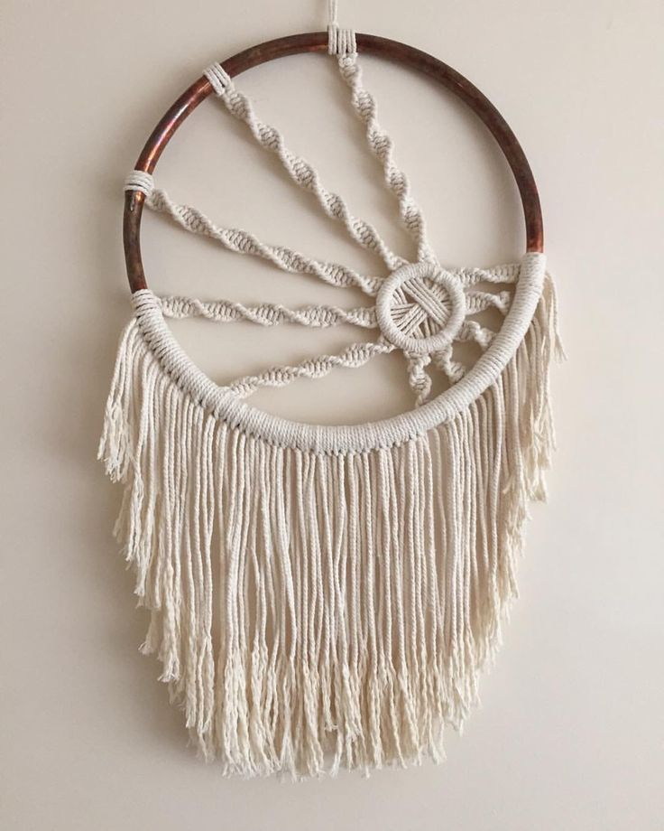 Macrame Wall Hanging by BOTANICAhome on Etsy https://www.etsy.com/listing/262338368/macrame-wall-hanging