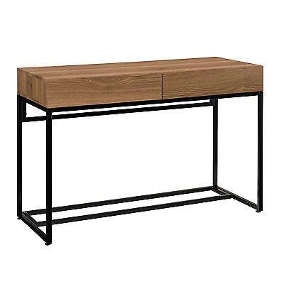 [en.casa]® Schreibtisch 110x45cm Sekretär Computertisch Büro Konsole Tisch PC