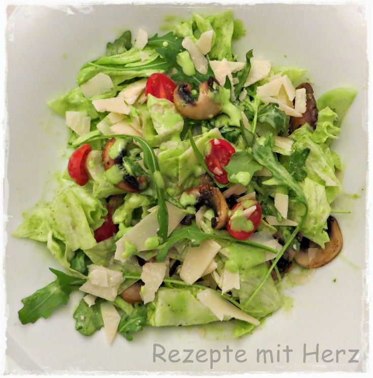 Thermomix - Rezepte mit Herz : Vapiano Salat mit Rucola Dressing