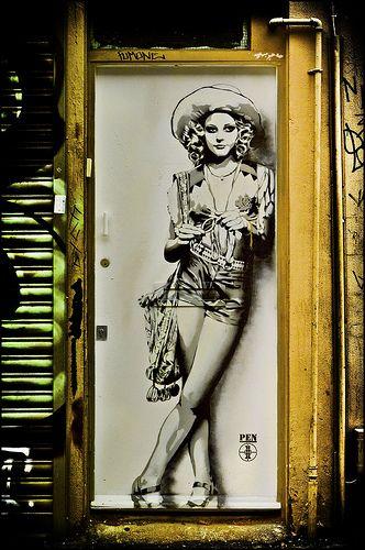 Arte Callejero / Street Art / Jodie  Foster / Taxi Driver