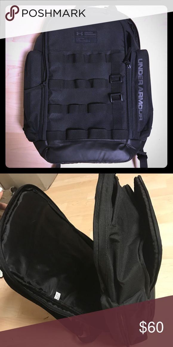 Like new Under Armour Backpack Like new Under Armour Backpack. Has lots of room for everything you need and has a slot for both your laptop and tablet. Under Armour Bags Backpacks