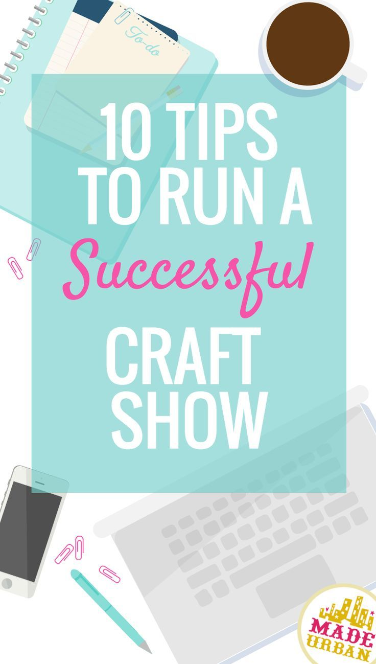 If you're organizing a craft fair, market or event, check out this article for the 10 things vendors find important in order for a craft show to be a success.