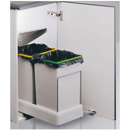 M s de 1000 ideas sobre cubos reciclaje en pinterest - Cubo basura extraible ...