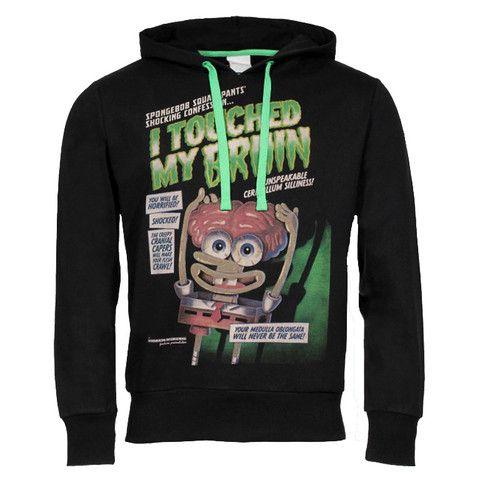"""Ανδρική Μπλούζα Hoodie """"Brain"""" Nickelodeon"""