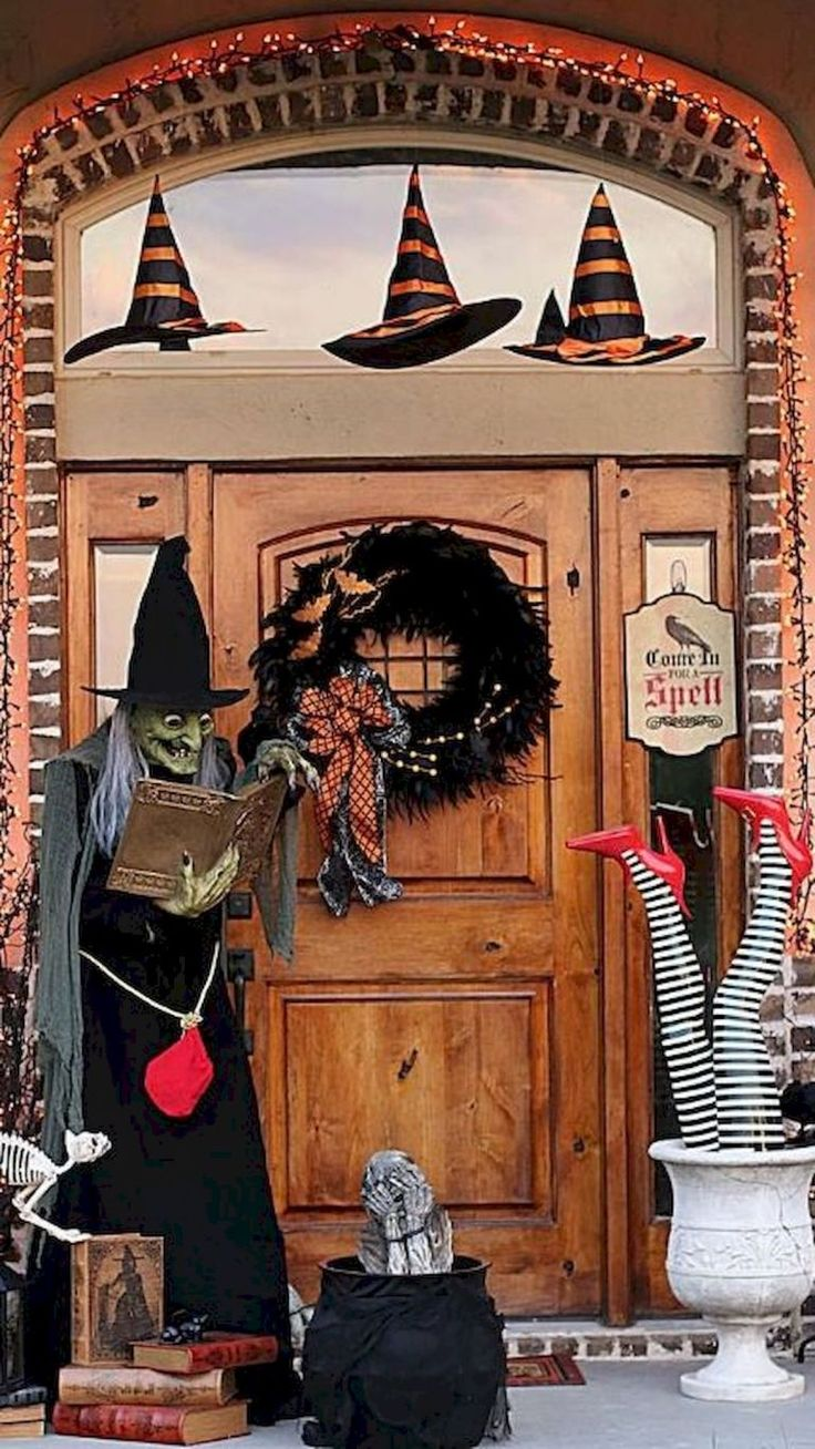 35 Best DIY Halloween Outdoor Decorations for 2018 (11