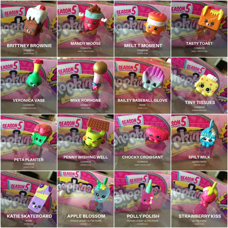 Toys For 5 And Up : Season shopkins are here bulk up your collection with