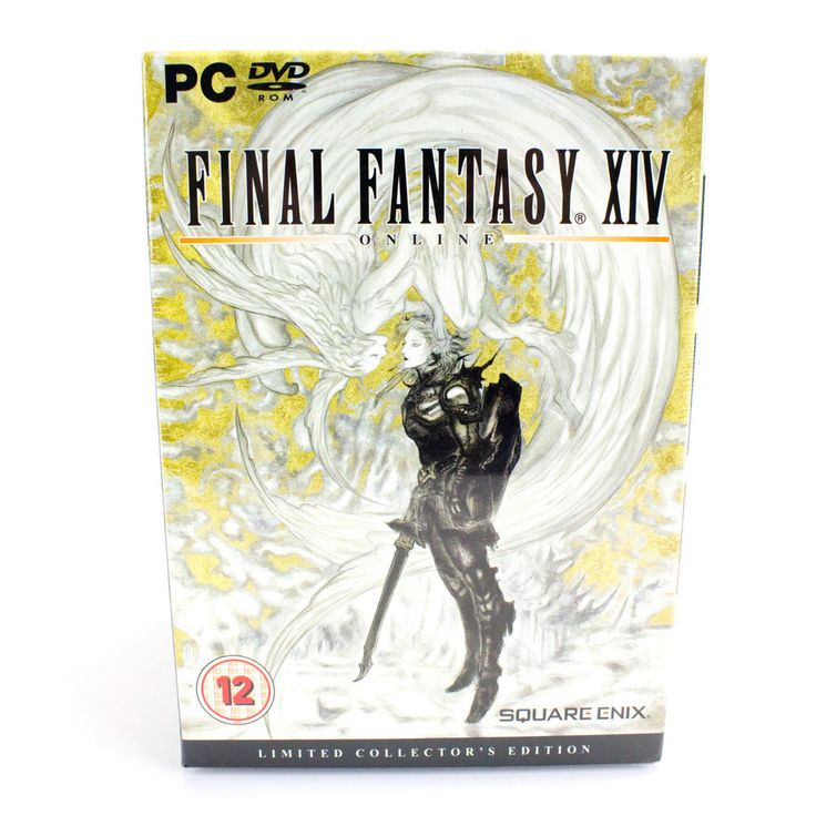 Final Fantasy XIV Collectors Edition for PC by Square Enix, 2010, Sealed