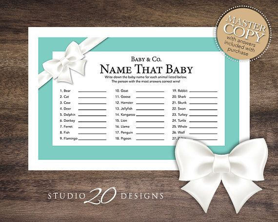 blue baby showers tiffany blue bows baby baby games baby shower
