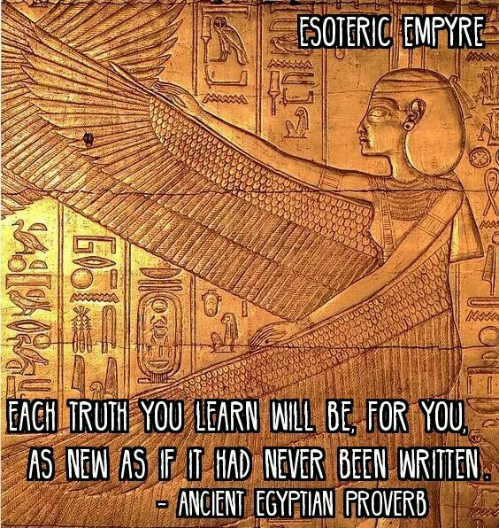 Ancient Egyptian Proverb  WITCH  Ancient Egypt Kemet
