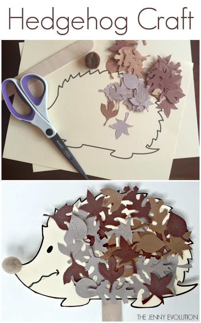 Hedgehog Craft for Kids
