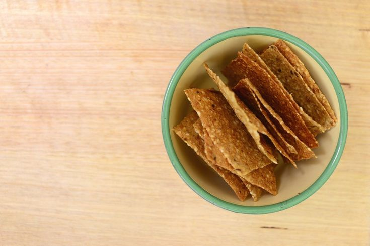 Crackers in Bowl