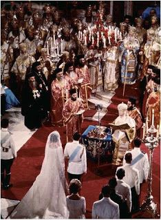 In 1959, Constantine came to Denmark on a state visit with his parents, the King and Queen of Greece, and met the 13 year old daughter of the Danish king. Two years later, he told his parents that he was going to marry Anne-Marie. Just three weeks after her 18th birthday, following soon after the mourning period for Constantine's father, Anne-Marie became the Queen of Greece.