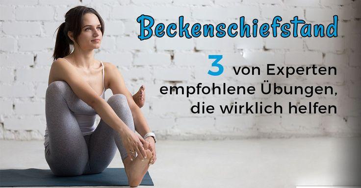 Plagen Dich Schmerzen aufgrund eines Beckenschiefstands oder einer Beinlängendifferenz? ➤ Experten empfehlen diese schnellen Übungen, um ...