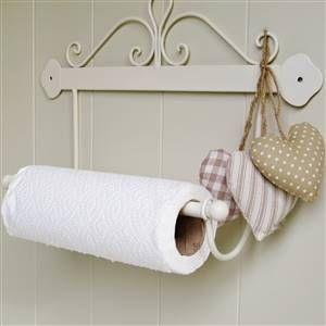 French scroll kitchen roll holder | Bliss and Bloom Ltd