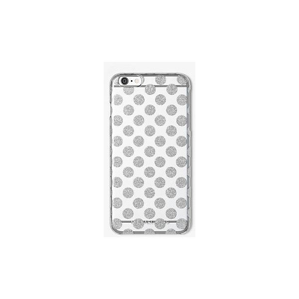 MICHAEL Michael Kors Glitter Dot Smartphone Case ($50) ❤ liked on Polyvore featuring men's fashion, men's accessories, men's tech accessories and michael michael kors