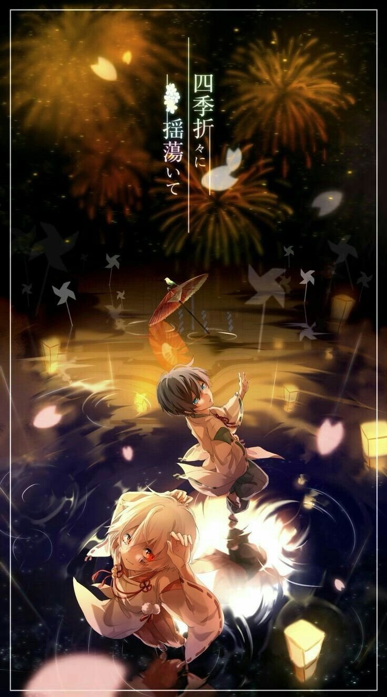 (Mafumafu and Soraru) Gambar, Anime anak lakilaki, Hantu