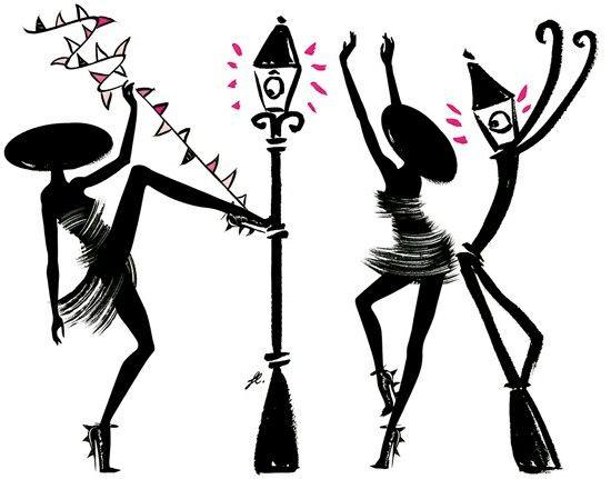 Party La petite robe noire...
