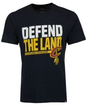'47 Brand Men's Cleveland Cavaliers Team Slogan T-shirt - Blue XXL