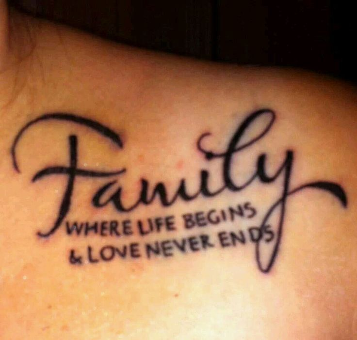 25 Best Cool Family Tattoos Images On Pinterest