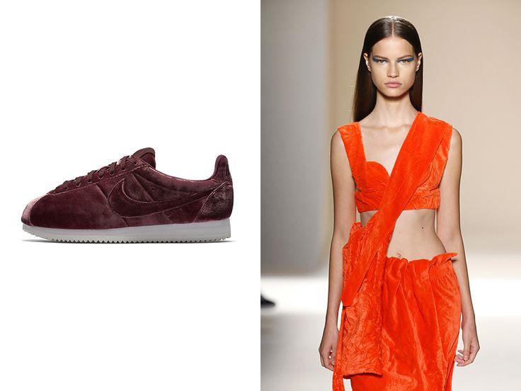 Regresa el terciopelo, la moda siempre está de moda.
