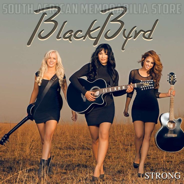 BLACKBYRD - Strong - South African Pop Rock CD CDEMCJ(WIP)6673 *New*