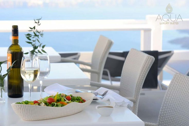 A gourmet selection of disheswith the perfect accompaniment of local wine and spirits will delight you - Santorini magic, not only for your eyes but for all the senses!