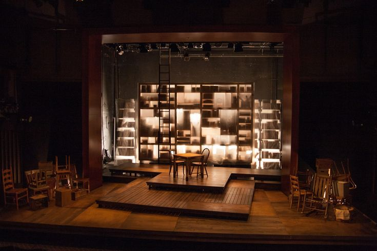 """Everything is Illuminated"" by Simon Block, Theater J, 2019, Scenic Design by Paige Hathaway, www.paigehathawaydesign.com"