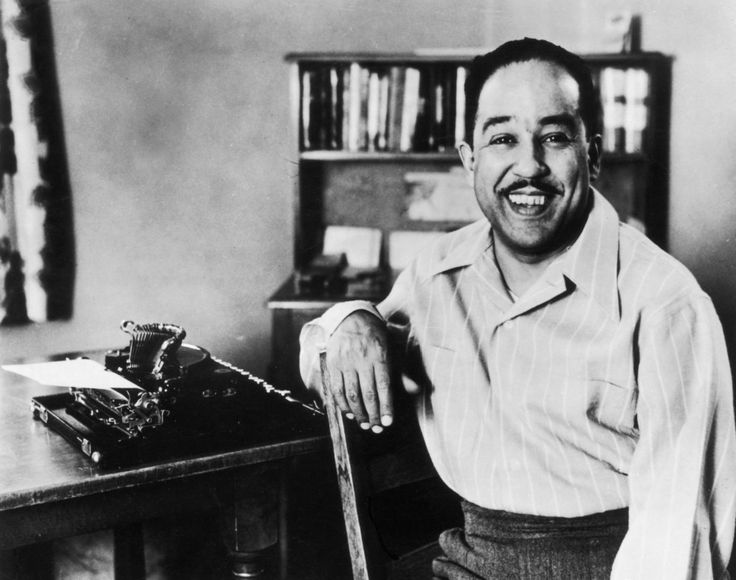 """""""They'll see how beautiful I am / And be ashamed— / I, too, am America."""" - Langston Hughes"""