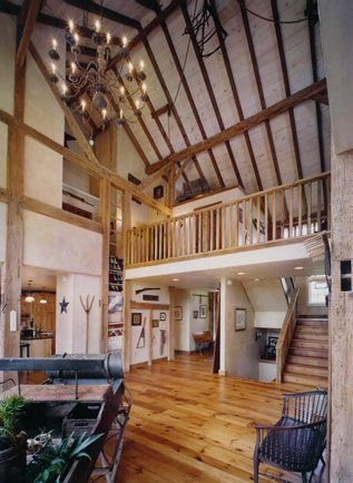 Great Room in Barn conversion