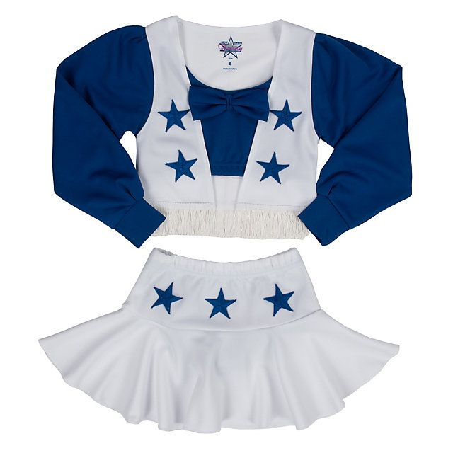 Dallas Cowboys Girls Deluxe Cheer Uniform | Toddler | Kids | Cowboys Catalog | Shopcowboys Site