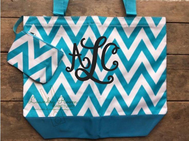 A personal favorite from my Etsy shop https://www.etsy.com/listing/515212063/aqua-chevron-beach-bag-tote-waterproof