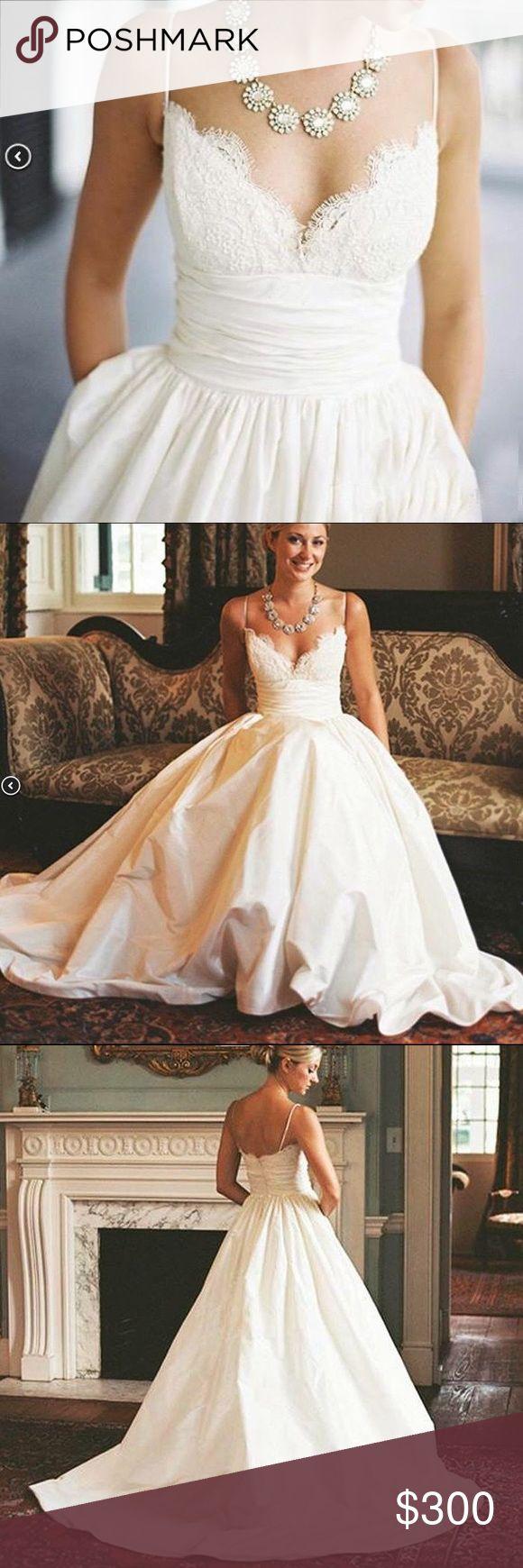 Best 25 taffeta wedding dresses ideas on pinterest ball for Amsale aberra wedding dresses