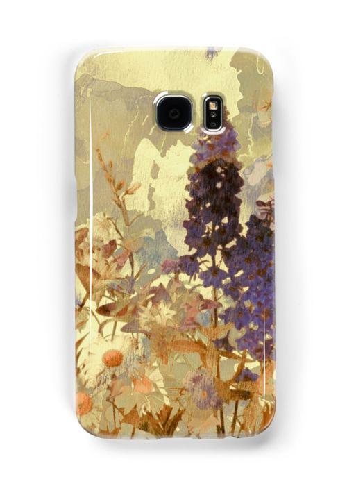 « floral sur beige/floral on beige » par clemfloral