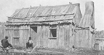 Image result for early settler bush hut