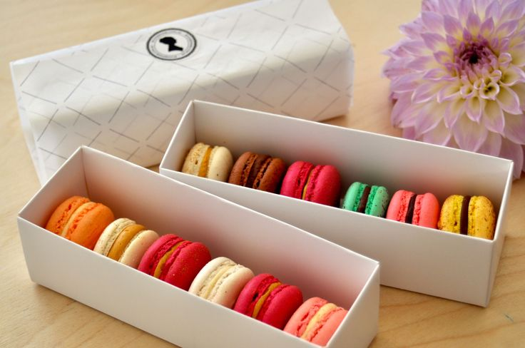 Macarons box By Josephine